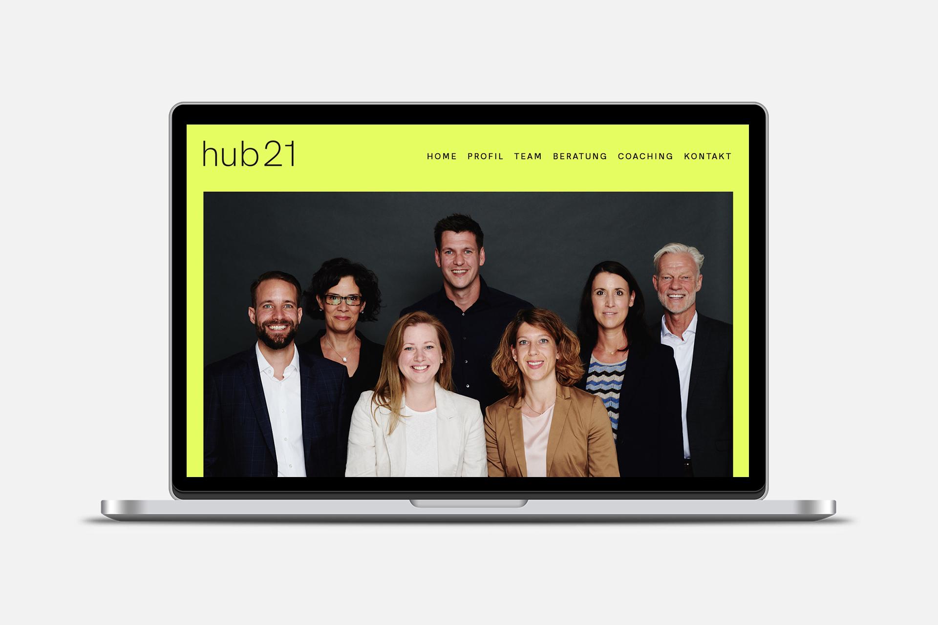 hub21web
